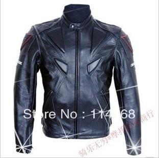 wholesale-Free shipping  PU professional racing Jacket motorcycle Jacket motocross jacket black top quality