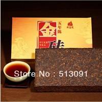 Free shipping more than High quality gold brick tea old Pu er Pu'erh tea China yunnan Puer tea gold brick tea 1000g
