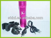 Bicycle mini speaker for sport