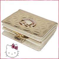 2012 Women's wallets hello kitty coin purse Bags pu zero-wallet colorful key case Bag 087 WKT033