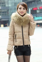 free shipping Manufacturers supply new Women's Ruffled Front Fashion thick wool coat jacket