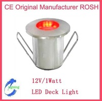 Stainless Iron 1W LED Underground light, LED Deck Light