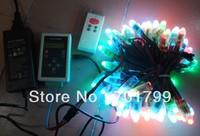 96pcs digital rgb pixel node,DC12V,WS2801IC+ WS2801 RF controller+ 12V4Apower adaptor kit