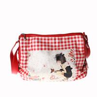 2012 women's handbag OLIVE messenger bag r5095-60 red white