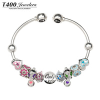 T400 beads 925 pure silver series qt004