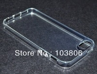 Clear Transparent Luxury Gel Silicon Soft Full Cover Case for iPhone 5 5G New