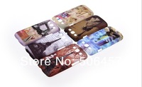Wholesale High Quality England architectural design case for samsung galaxy sIII s3 i9300;Free shipping 30pcs/lot