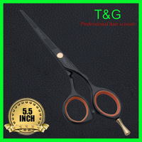 Wholesale,  Hair Shear. High quality 440C Steel, 5.5 Inch, Black  Scissors+Free Shipping