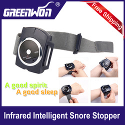 hot!! 10pcs /lot popular gifts for personal nose snore stopper/infrared ray snore gone to reduce snoring/ZHQ01(China (Mainland))