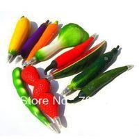 Korea stationery cartoon vegetable and fruit pen magnet ballpoint pen