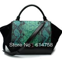New Arrived 2013  high quality Bat bag women's genuine leather handbags fashion handbags  35