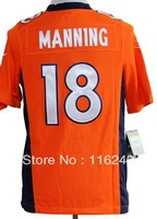 american football Peyton Manning man game stitched  jersey wholesale factory outlets free shipping mix order