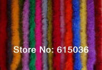 "10Pcs/lot 200cm(79"") Chicken Feather Strip Wedding Marabou Feather Boa #10 color Y choose"