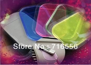 5pcs Powerful Silica Gel Magic Sticky Pad Anti-Slip Non Slip Mat for Phone PDA mp3 mp4 Car Multicolor