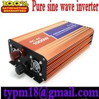 Pure Sine Wave Solar Inverter 1000w dc 12v to ac 120v free shipping!