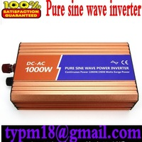 Pure Sine Wave Solar Inverter 1000w dc 12v to ac 120v free shipping!