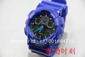 Fashion Watch ga 100 watch,sports g watch GA100 outdoor sports(no shocking box), 10 piece free shipping 001