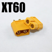 100PCS=50pairs XT60 rc lipo battery connector bullet  XT 60 PLUG Connectors male and female T
