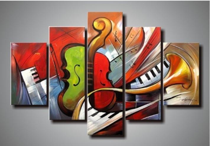 Pinturas abstractas de musica - Imagui