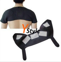 Shouler Back Heating Brace Protector Self-Heating Massage Belt for Shouler with Magnetic Therapy Function Free Shipping 1PCS