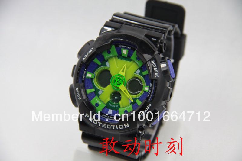 Fashion new sport men watch,Ga120 g watch,digital watches,rubber silicone led wristwatch,free shipping