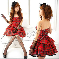 hot selling Cos alice lolita dress anime clothes cosplay