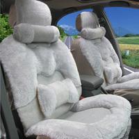 Plush car seat cushion winter car seat cushion car mats pulvinis winter pad auto supplies