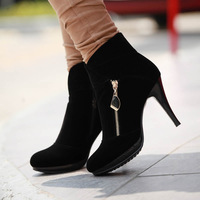 2013 spring women fashion high heel boots sexy Pumps , leather boot Knight Boots , free shipping