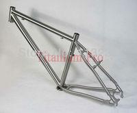 High Quality Titanium Mountain Bike Bicycle Frame Titan MTB 1500g EMS Free Shipping