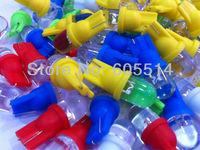 [Seven Neon]Free shipping 500pcs T10 led car light bulb,car dashboard light,interior light