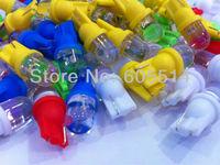 [Seven Neon]Free DHL express shipping 500pcs T10 led car light bulb,car dashboard light,interior light