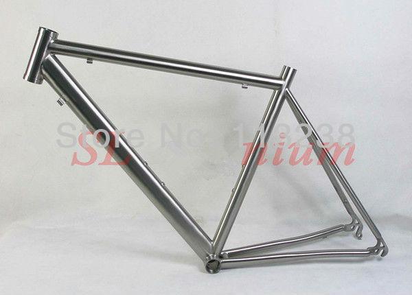 2013 Popular Titanium Road Bike Frame Racing Bicycle Titan 1450g Free Shipping(China (Mainland))
