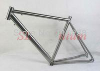 2013 Popular Titanium Road Bike Frame Racing Bicycle Titan 1450g   Free Shipping