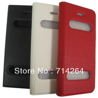 New arrival   for iphone 5 hight quality  leather case flip cover with retail package,free shipping