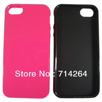 New arrival  for iphone 5 thickness1.3mm hight quality  soft Gel Skin tpu case ,free shipping