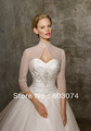 Organza Bridal Wedding Dress Bolero Jacket  Wraps Coat Free Shipping