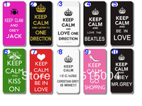New design KEEP CALM case hard back cover for iphone 4 4s 4g 10PCS/lot +free shipping