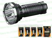 Fenix TK75 Torch 3 Pcs CREE XM-L2 U2 LED Flashlight 2900 Lm+Fenix ARE-C1 charger,car charger+ARB-L2 18650 lithium battery 4 Pcs