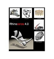 New Rhinoceros 4 Rhino 4.0 English band Flamingo, VRay, T - Splines
