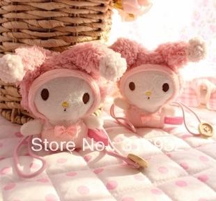 C2 Cute Melody Plush Curtain Buckle, good qualitiy, 1 pair