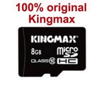 100% Original Kingmax Memory Card - 8GB Micro SD Card Class 10 high speed, Full Capacity