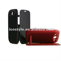 Whole sale 10pcs/lots Hot Item!2200mah External Battery Case with Leather For Samsung Galaxy S3