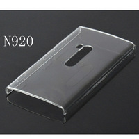free shipping Hard Plastic clear crystal transparent back cover case for Windows Phone Lumia 920
