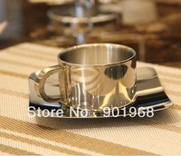 2sets/lot S size Stainless steel coffee cup set-coffee cup-coffee mug