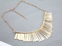 Wholesale! Simple Noble Female Metal Multi-layer Tassels short Necklace. NL177