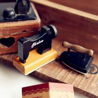 Free Shipping!NEW vintage sewing machine shape happy birthday Wooden stamps/rubber stamps/DIY stamp Wholesale