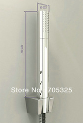 Wonderful Chrome Finished Bathroom Brass Body Hand Shower AD-1266(China (Mainland))