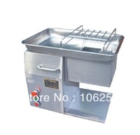 QX stainless steel material meat silicer/ meat cutting machine  220V/110V ,250KG/hour
