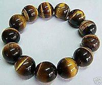 men's jewelry tribal tiger's-eye bracelet 10mm