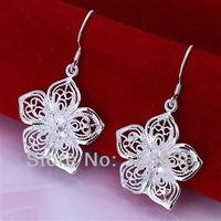 LQ-E035 Free Shipping 925 silver  wholesale fashion jewelry earring 925 silver earrings bnya kffa swoa